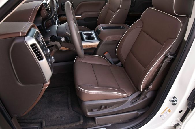 Awesome 2016 Chevy High Country Interior